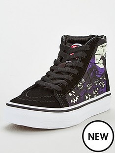 vans-childrens-sk8-hi-zip-nightmare-before-christmas-jacks-lament-high-tops-black