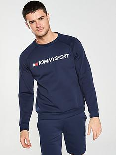 tommy-hilfiger-tommy-sport-fleece-logo-crew-neck-sweat