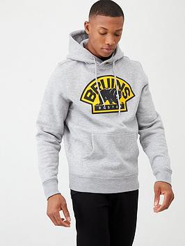 Fanatics Fanatics Nhl Boston Bruins Team Hoodie - Grey Picture