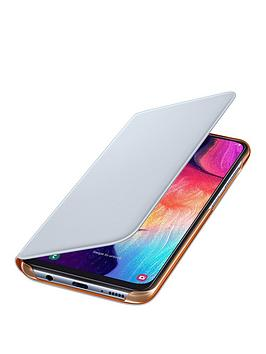 Samsung Samsung Galaxy A50 Wallet Cover - White Picture