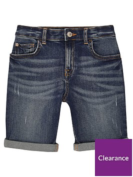 river-island-boys-dylan-slim-fit-shorts-mid-blue