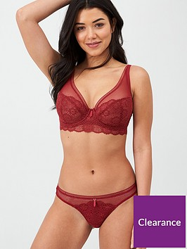 freya-expression-lace-brazilian-brief-red