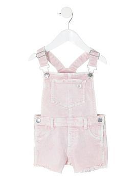 river-island-mini-mini-girls-dungarees-pink