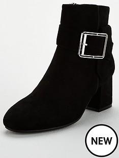 wallis-low-block-heel-large-buckle-boot-black