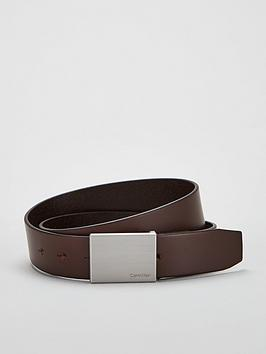 calvin-klein-formal-plaque-leather-belt-brown