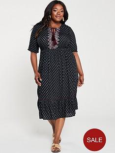 junarose-aviayanbsppaisely-midi-dress-black