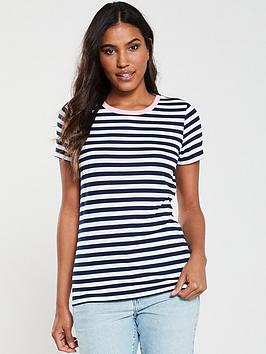 v-by-very-contrast-rib-stripe-t-shirt-navy