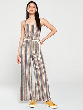 v-by-very-rope-belt-jumpsuit-stripe