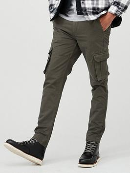 V by Very V By Very Cargo Trousers - Khaki Picture