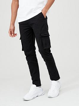 V by Very V By Very Cargo Trousers - Black Picture