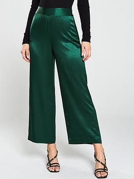 whistles-satin-belted-trousers-dark-green
