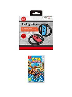 nintendo-switch-crash-team-racing-nitro-fuelled-and-a-racing-wheel-twin-pack