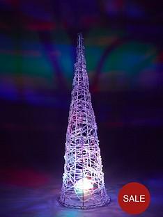noma-65cm-indoor-outdoor-cone-with-multicolour-disco-light