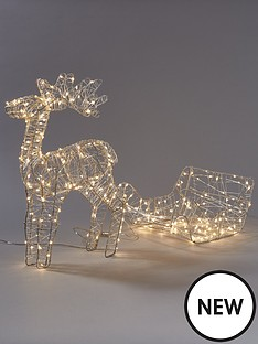 noma-reindeer-and-sleigh-lit-christmas-decoration