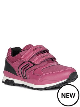 geox-girls-pavel-strap-trainers-pink