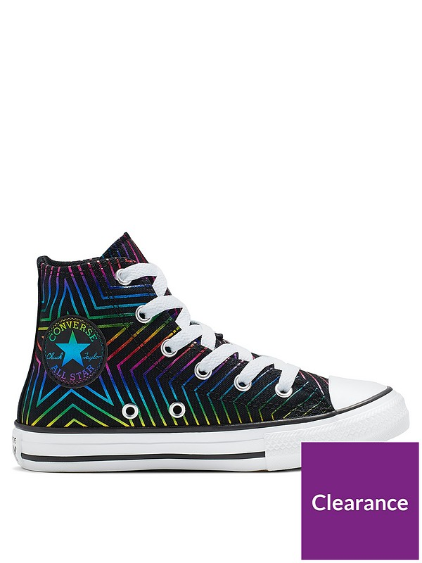 Chuck Taylor All Star All Of The Stars Trainers BlackWhitePink