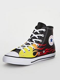 converse-chuck-taylor-all-star-hi-tops-blackorangeyellow