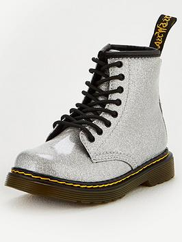 dr-martens-girls-1460-patent-8-lace-boots-silver-glitter