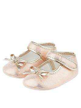 monsoon-baby-esme-bow-bootie