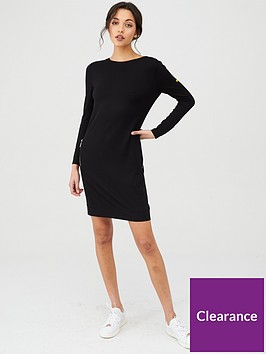 barbour-international-shuttle-dress-black