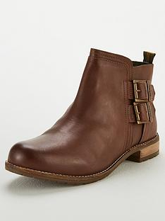 barbour-sarah-low-buckle-boots-wine