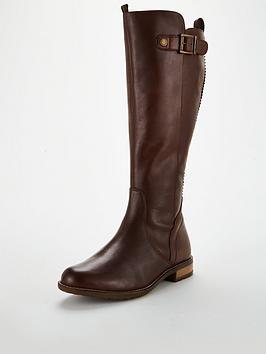 Barbour Barbour Rebecca Calf Length Zip Boot - Wine Picture
