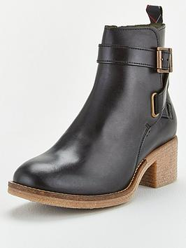 Barbour Barbour Keavy Heeled Boot - Black Picture