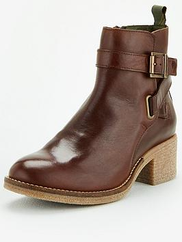 Barbour Barbour Keavy Heeled Boots - Brown Picture