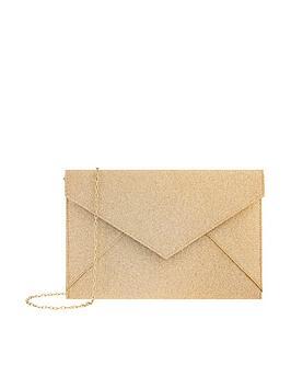 Accessorize Lily Glitter Envelope Clutch
