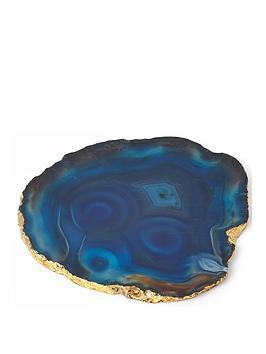 river-island-agate-coaster-blue