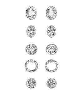 accessorize-5-x-crystal-stud-pack
