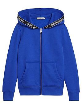 calvin-klein-jeans-boys-logo-taped-zip-through-hoodie-royal-blue