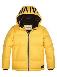 calvin-klein-jeans-boys-padded-down-coat-yellow