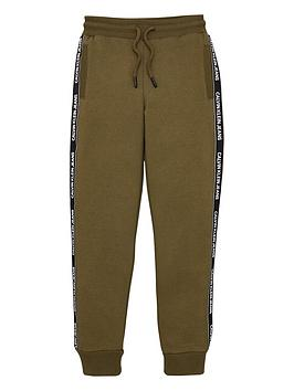 calvin-klein-jeans-boys-logo-taped-sweat-pants-khaki