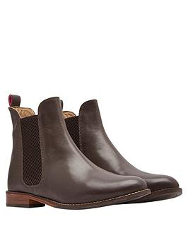 Joules Joules Westbourne Leather Chelsea Boot - Brown Picture