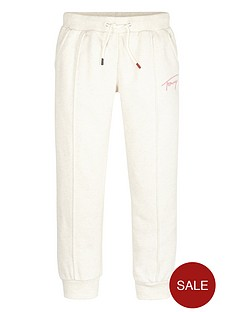 tommy-hilfiger-girls-signature-jog-pants-cream