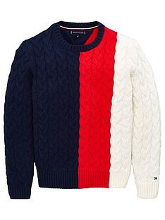tommy-hilfiger-boys-colour-block-knitted-jumper-navy