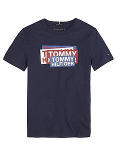 tommy-hilfiger-boys-sticker-short-sleeve-t-shirt-navy