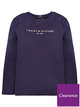 tommy-hilfiger-boys-essential-logo-long-sleeve-t-shirt-navy