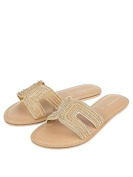 accessorize-bella-beaded-sliders-gold