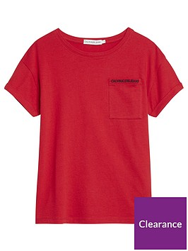 calvin-klein-jeans-girls-small-logo-short-sleeve-t-shirt-red