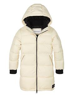 calvin-klein-jeans-girls-long-line-padded-coat-cream