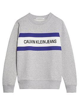calvin-klein-jeans-boys-box-logo-crew-sweat-light-grey