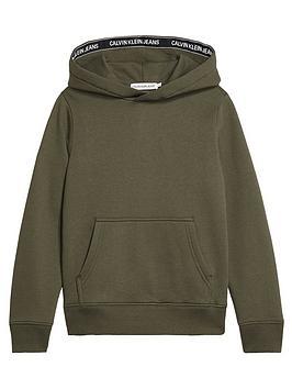 calvin-klein-jeans-boys-logo-tape-hoodie-khaki