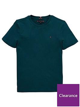 tommy-hilfiger-boys-essential-flag-short-sleeve-t-shirt-green