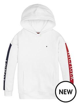 tommy-hilfiger-girls-colour-block-logo-hoodie