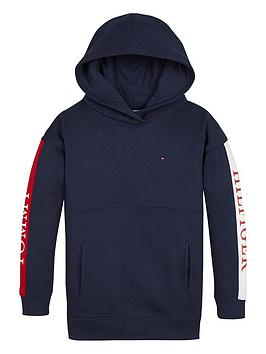 tommy-hilfiger-girls-colour-block-logo-hoodie