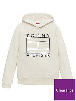 tommy-hilfiger-girls-graphic-logo-hoodie-cream