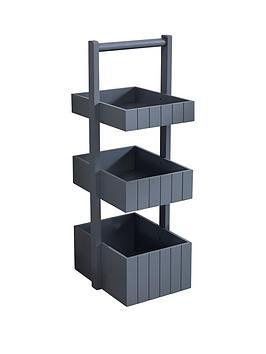 lloyd-pascal-burfordnbsppainted-bathroom-storage-caddy-grey