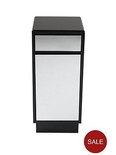 lloyd-pascal-memphis-mirrored-black-high-gloss-single-bathroom-storage-unit